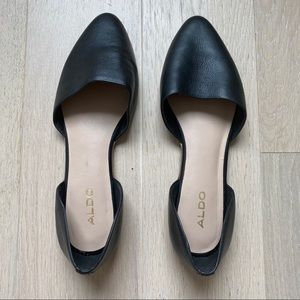 Aldo Leatherette Flats